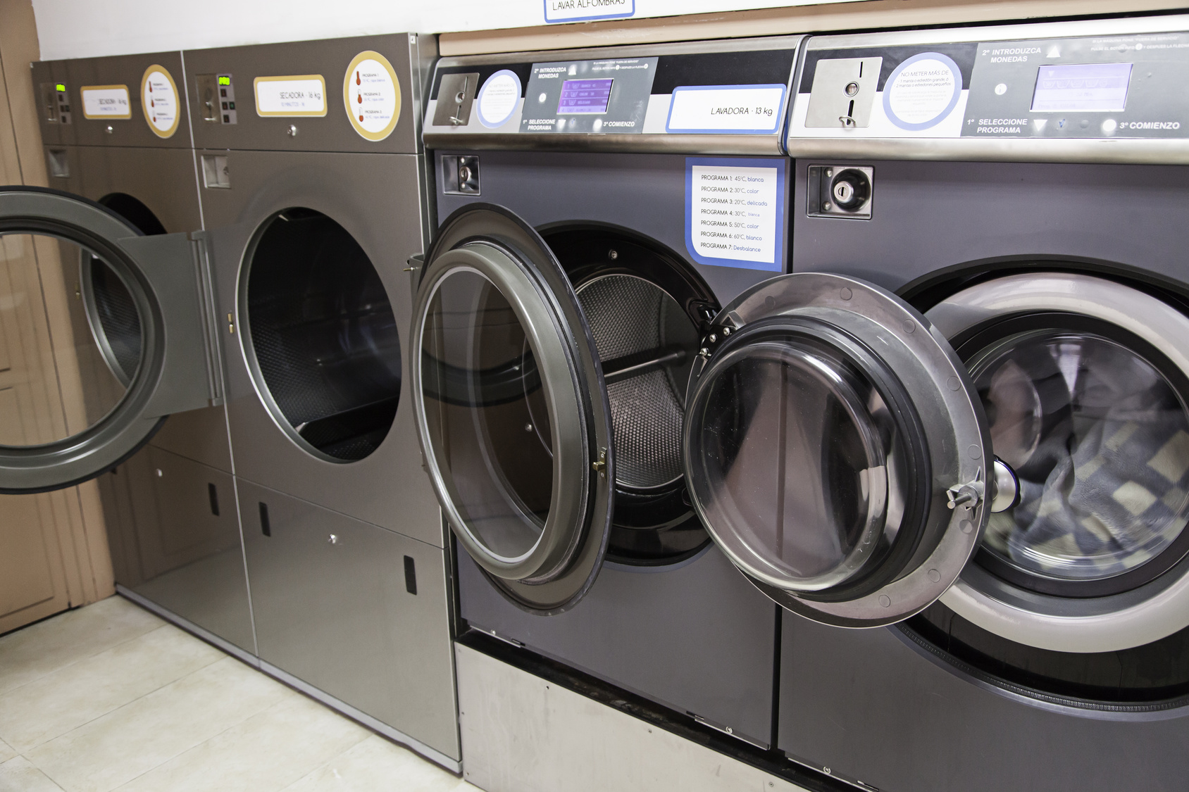 Urban Laundry, detail of a facility for washing clothes