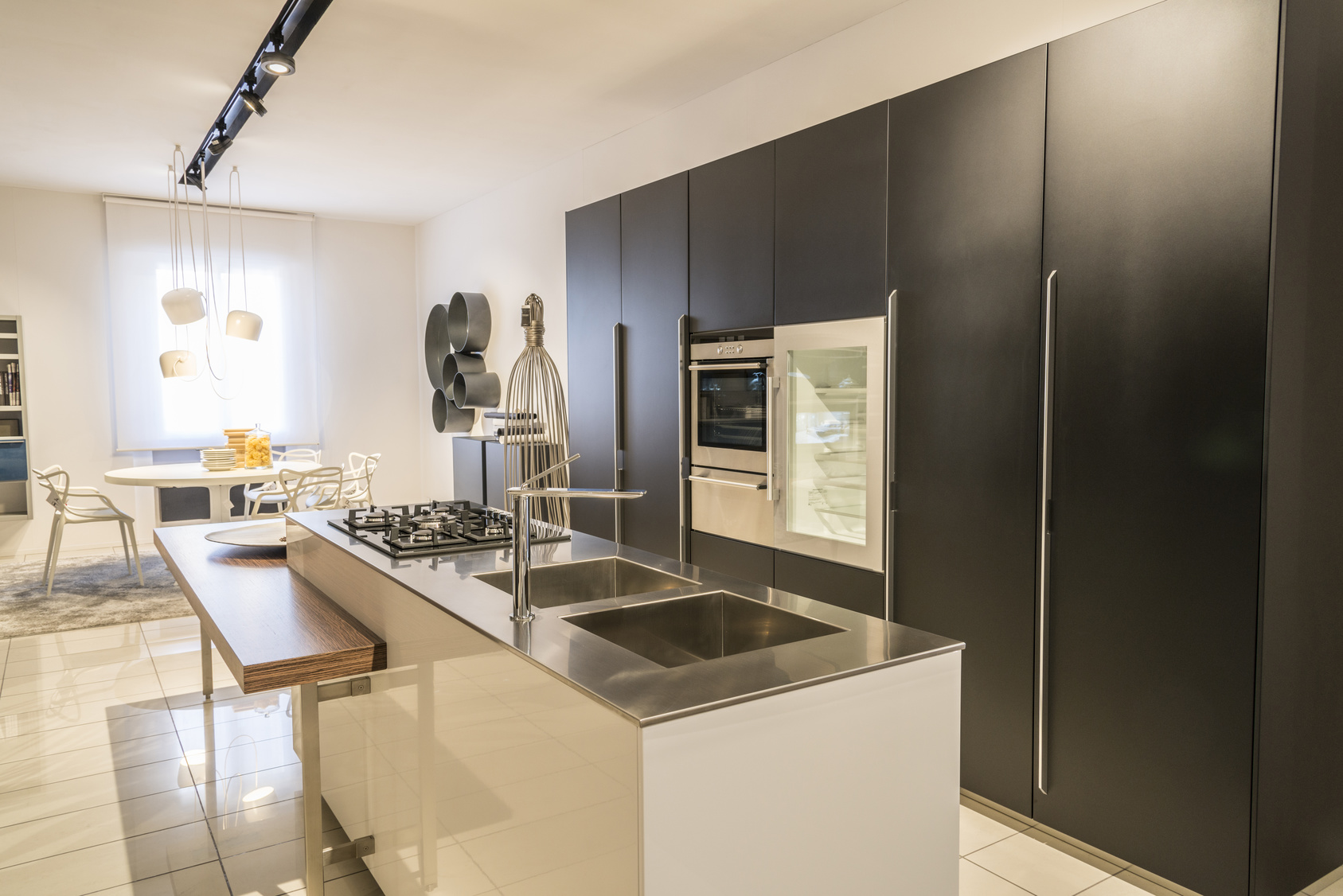 Contemporary kitchen interior in modern house